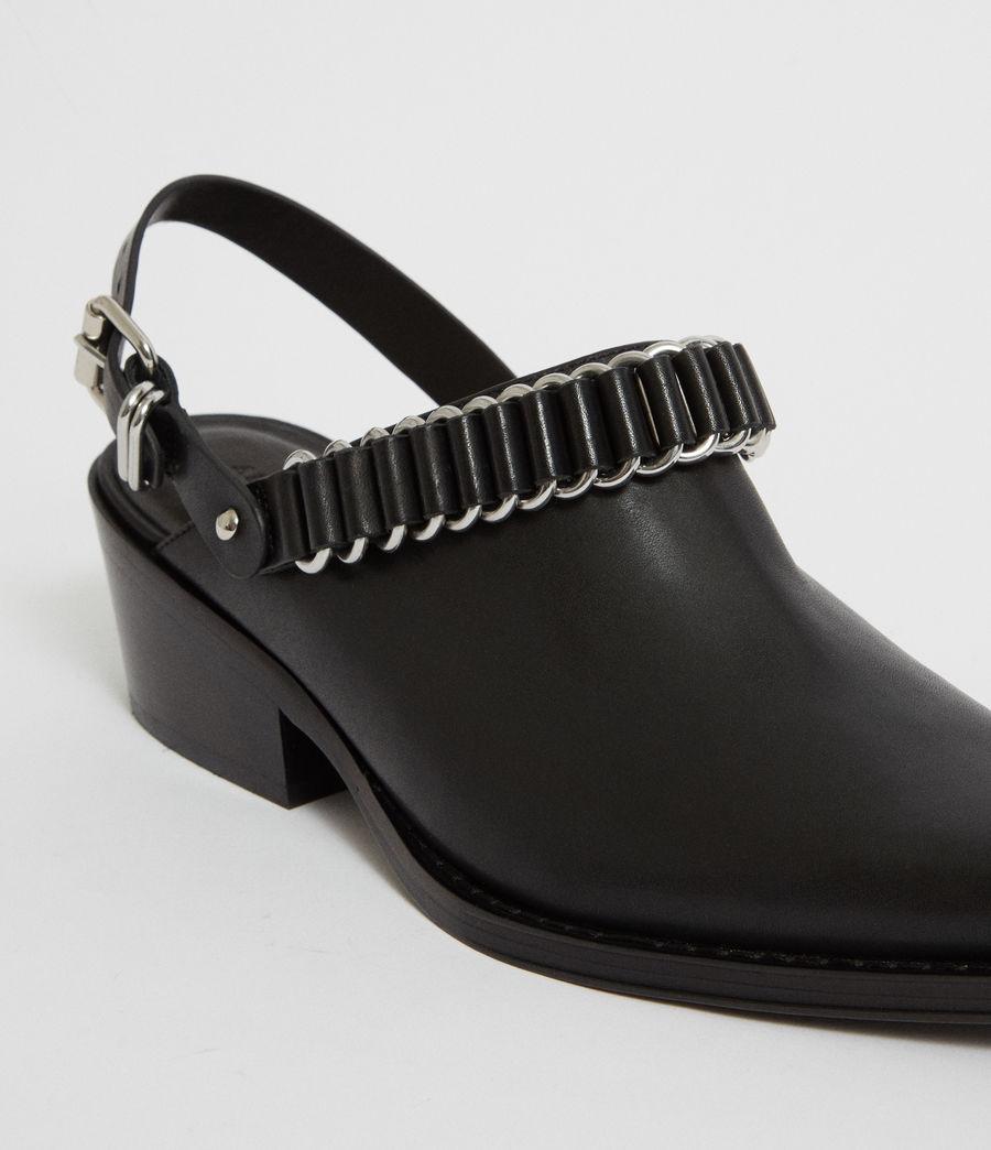 Mujer Zapatos Destalonados Ryder (black) - Image 3