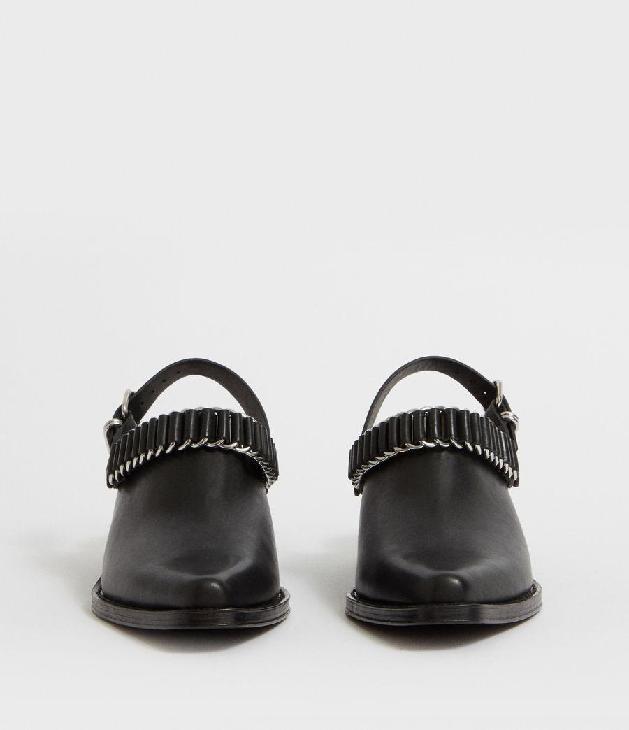 Mujer Zapatos Destalonados Ryder (black) - Image 4