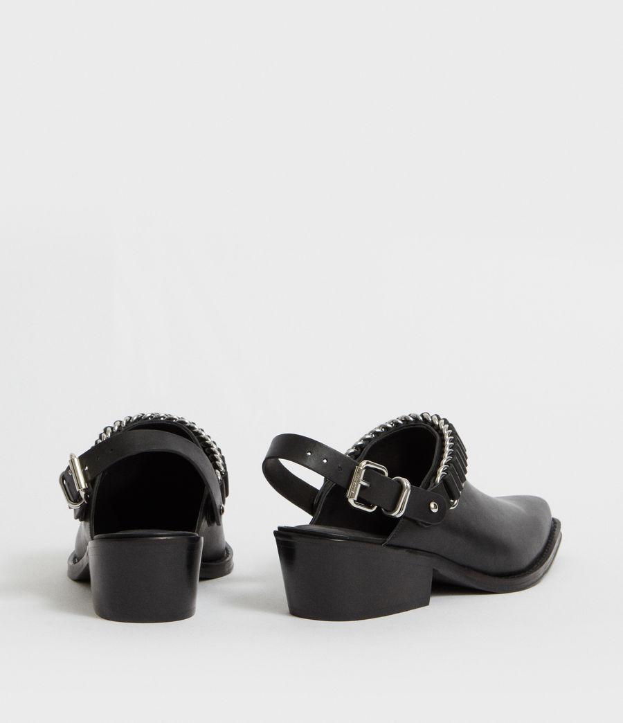 Mujer Zapatos Destalonados Ryder (black) - Image 5