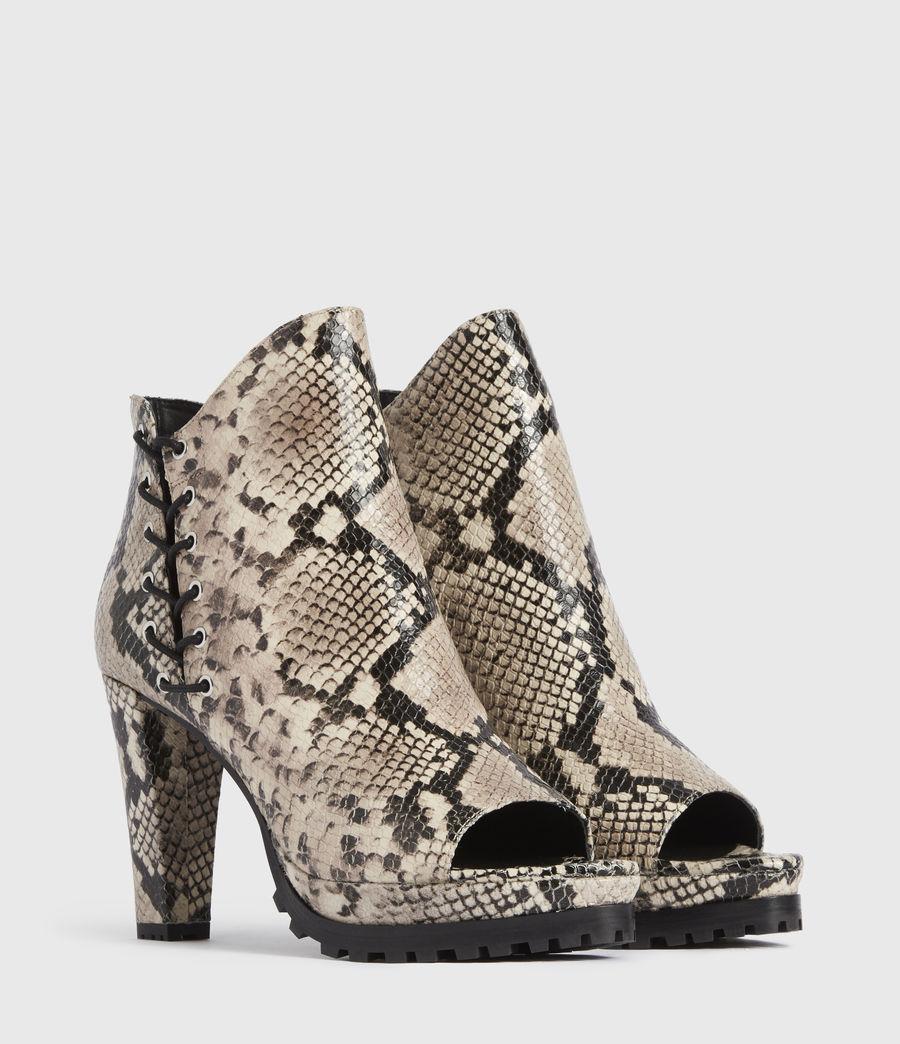 Damen Micaela Suede Boots (nude) - Image 3
