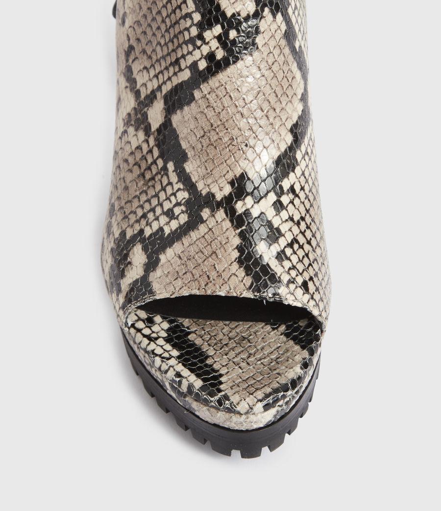 Damen Micaela Suede Boots (nude) - Image 4