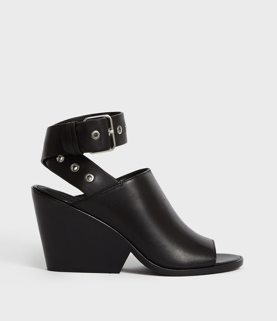 Women's Pomola Sandal (black) - Image 1
