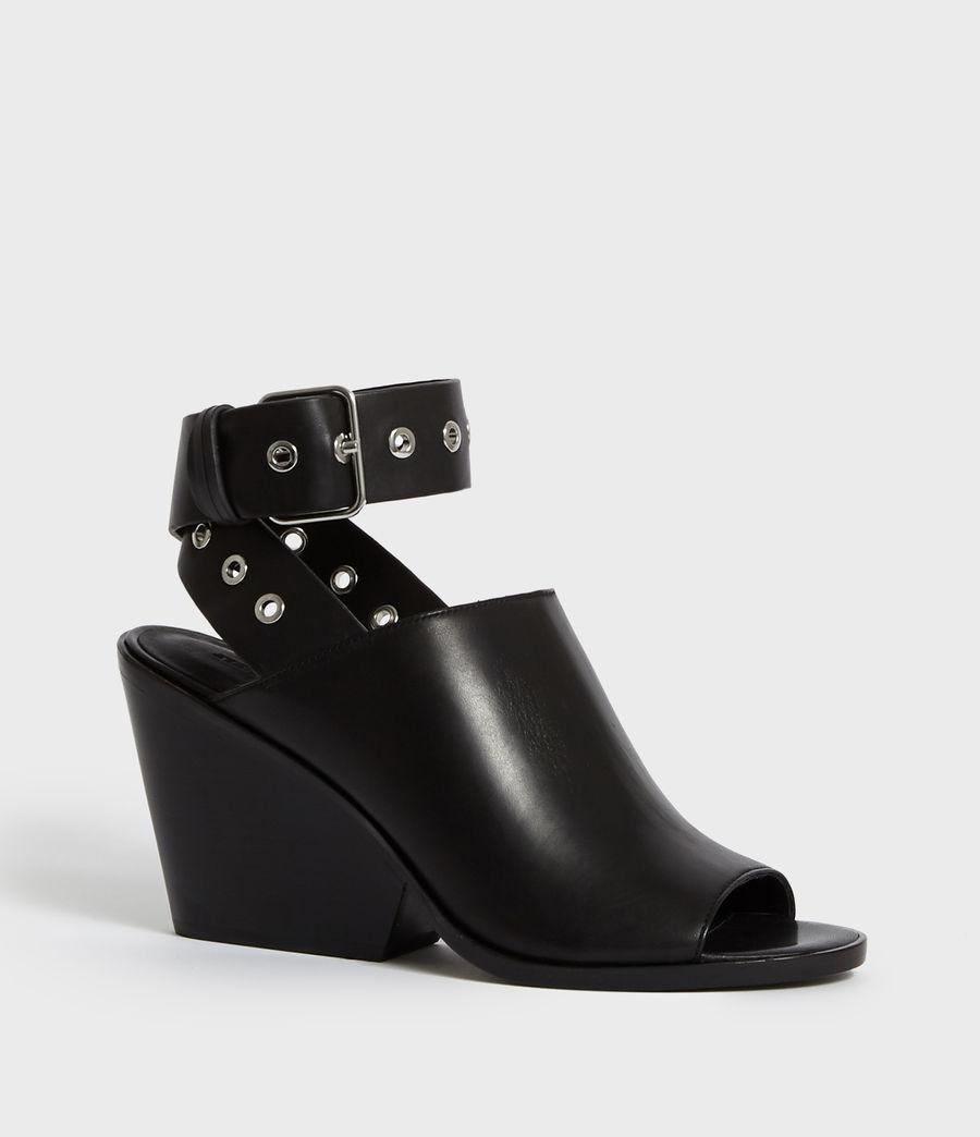 Women's Pomola Sandal (black) - Image 2