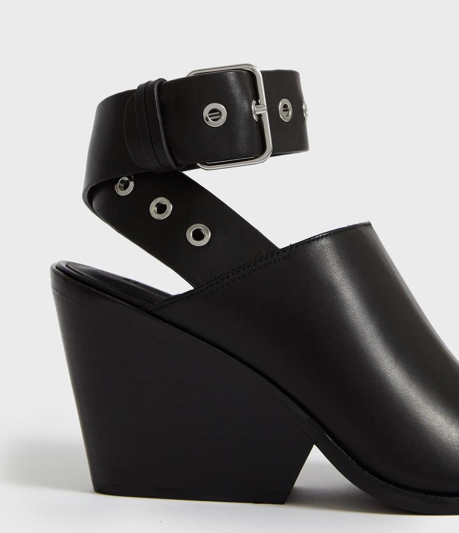 Women's Pomola Sandal (black) - Image 3