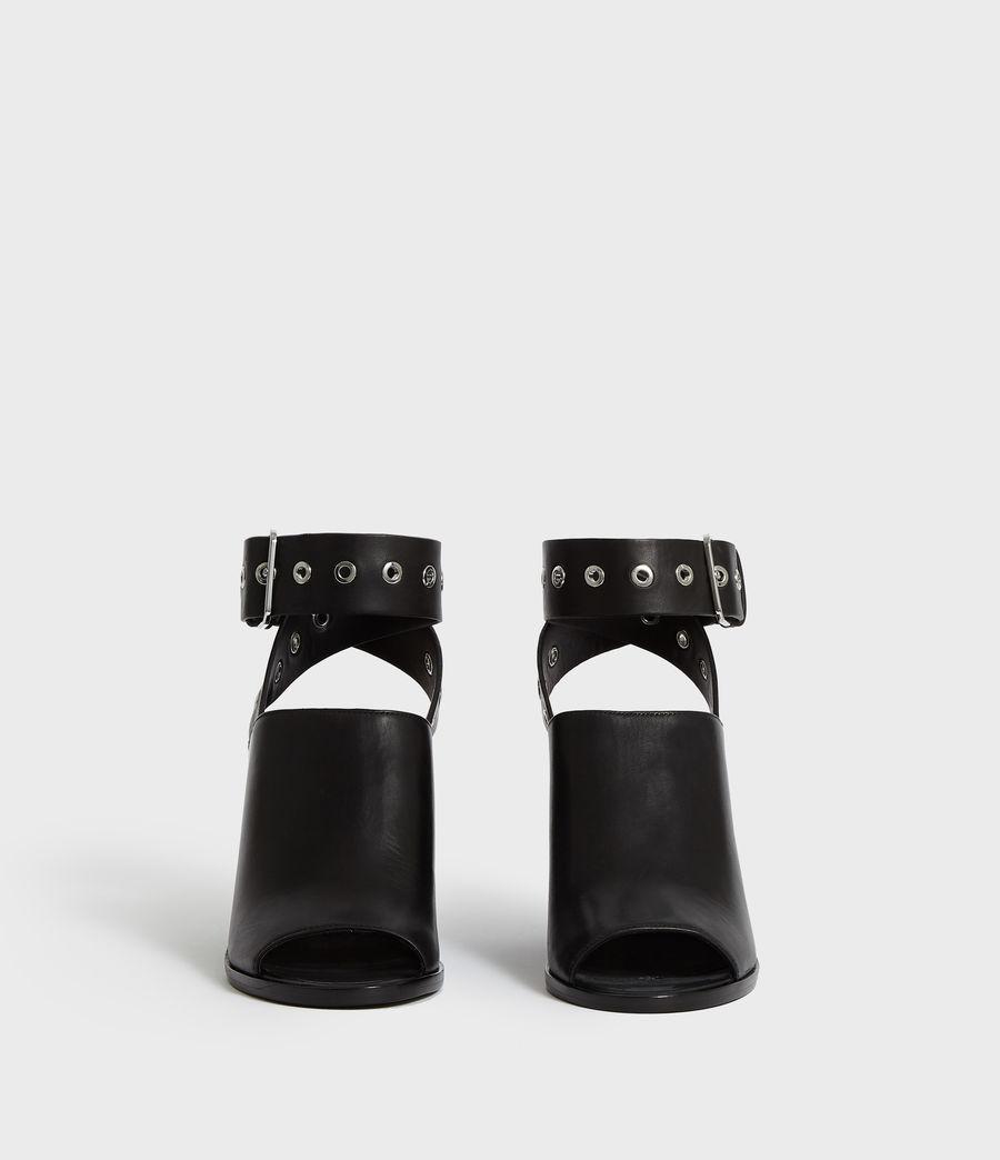 Women's Pomola Sandal (black) - Image 4