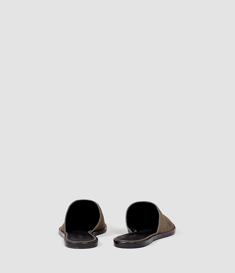 Womens Rick Slip On Sandal (dark_khaki) - Image 3