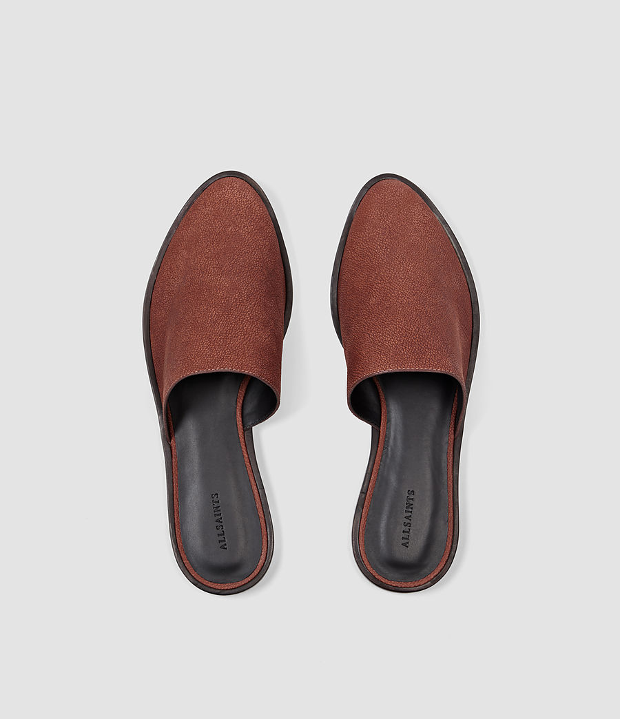 Donne Rick Slip On Sandal (brick_brown) - Image 4