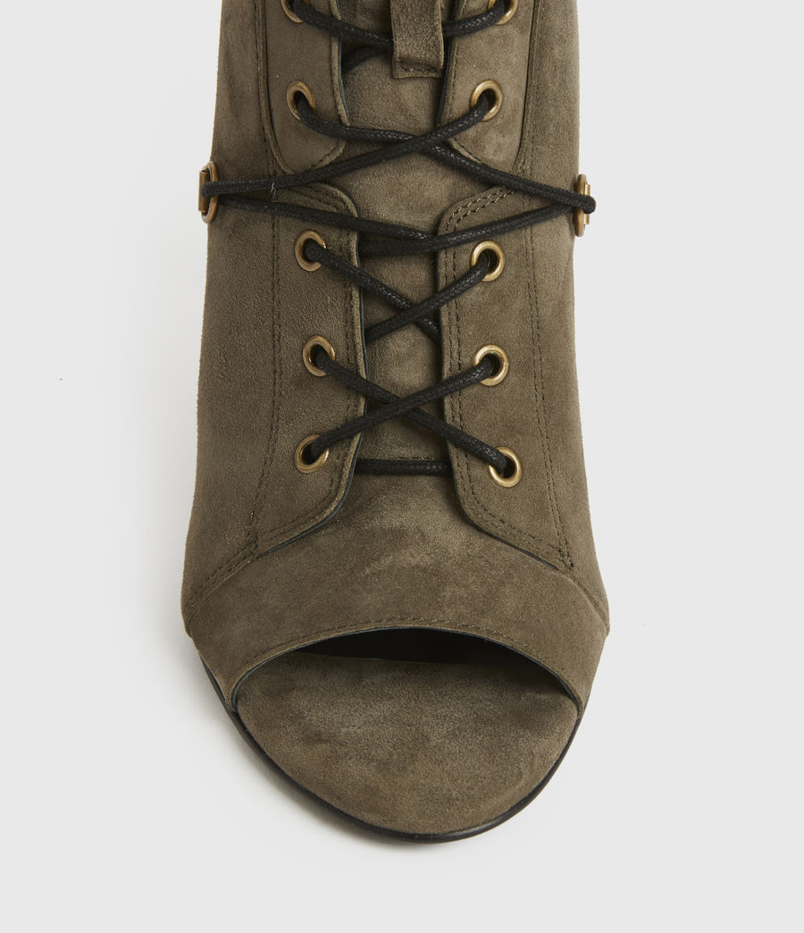 Mujer Joanna Suede Boots (khaki) - Image 2