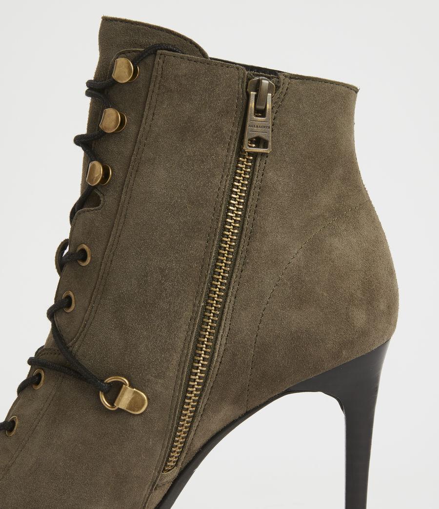 Damen Joanna Suede Boots (khaki) - Image 4
