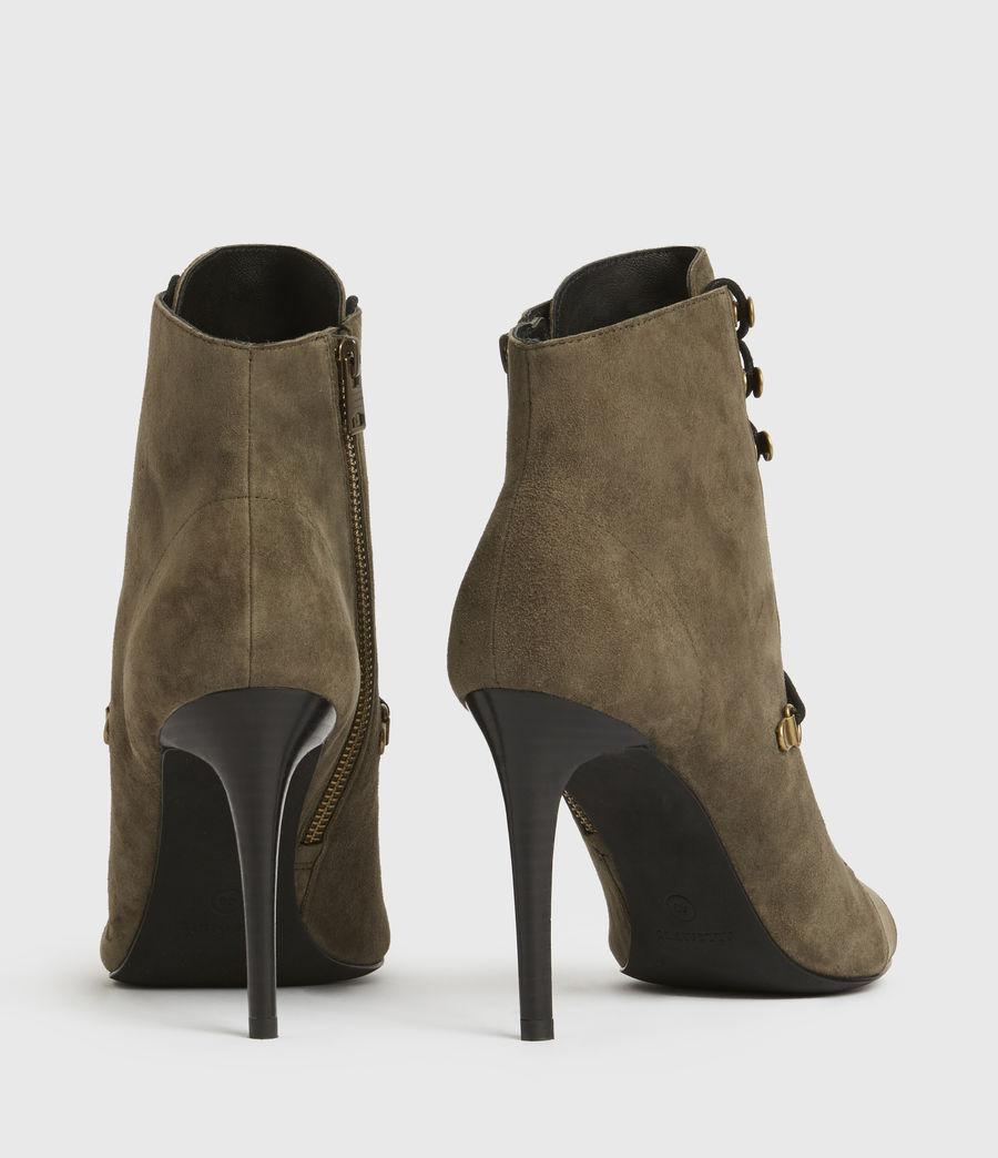 Damen Joanna Suede Boots (khaki) - Image 5