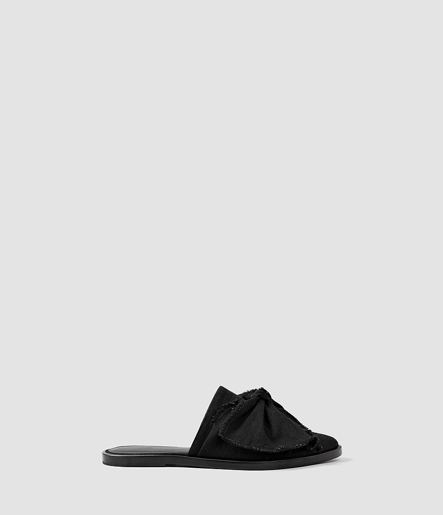 Womens Rumour Slip On Shoe (washed_black) - Image 1