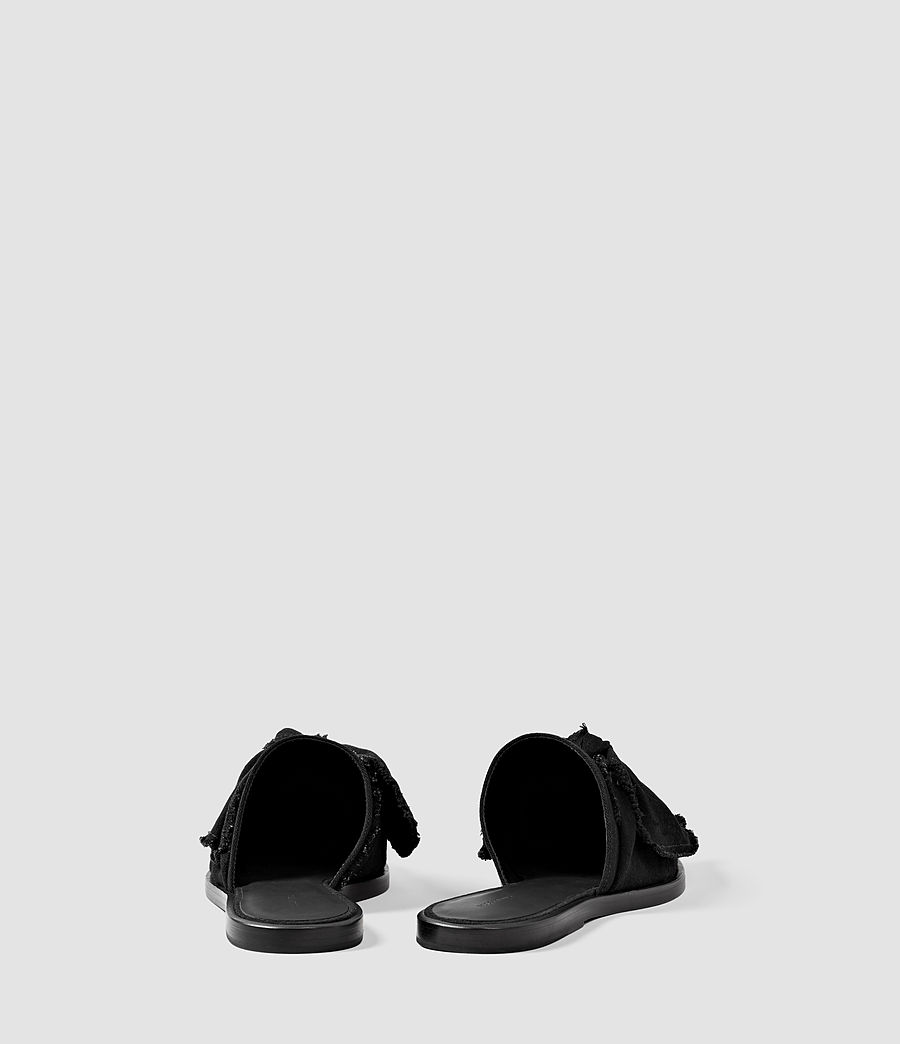 Womens Rumour Slip On Shoe (washed_black) - Image 3