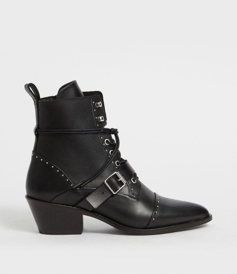 Womens Katy Studded Boot (black) - Image 1