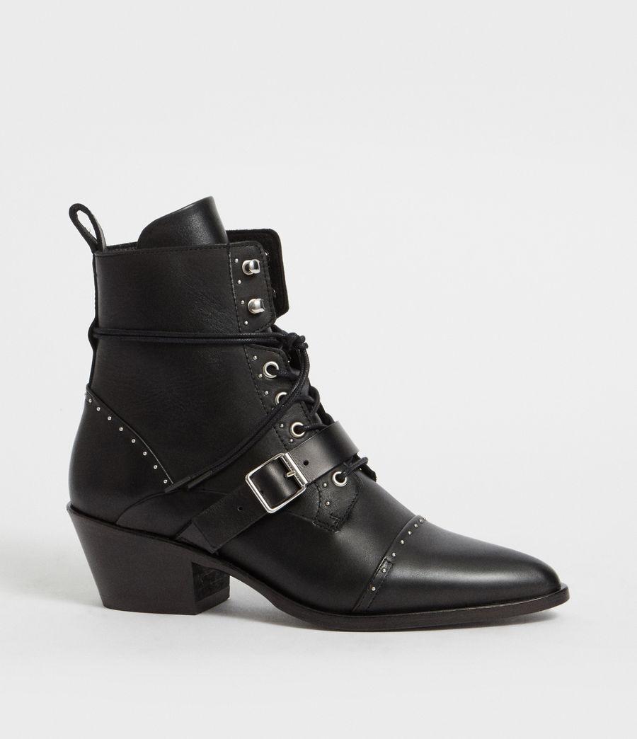 Womens Katy Studded Boot (black) - Image 2