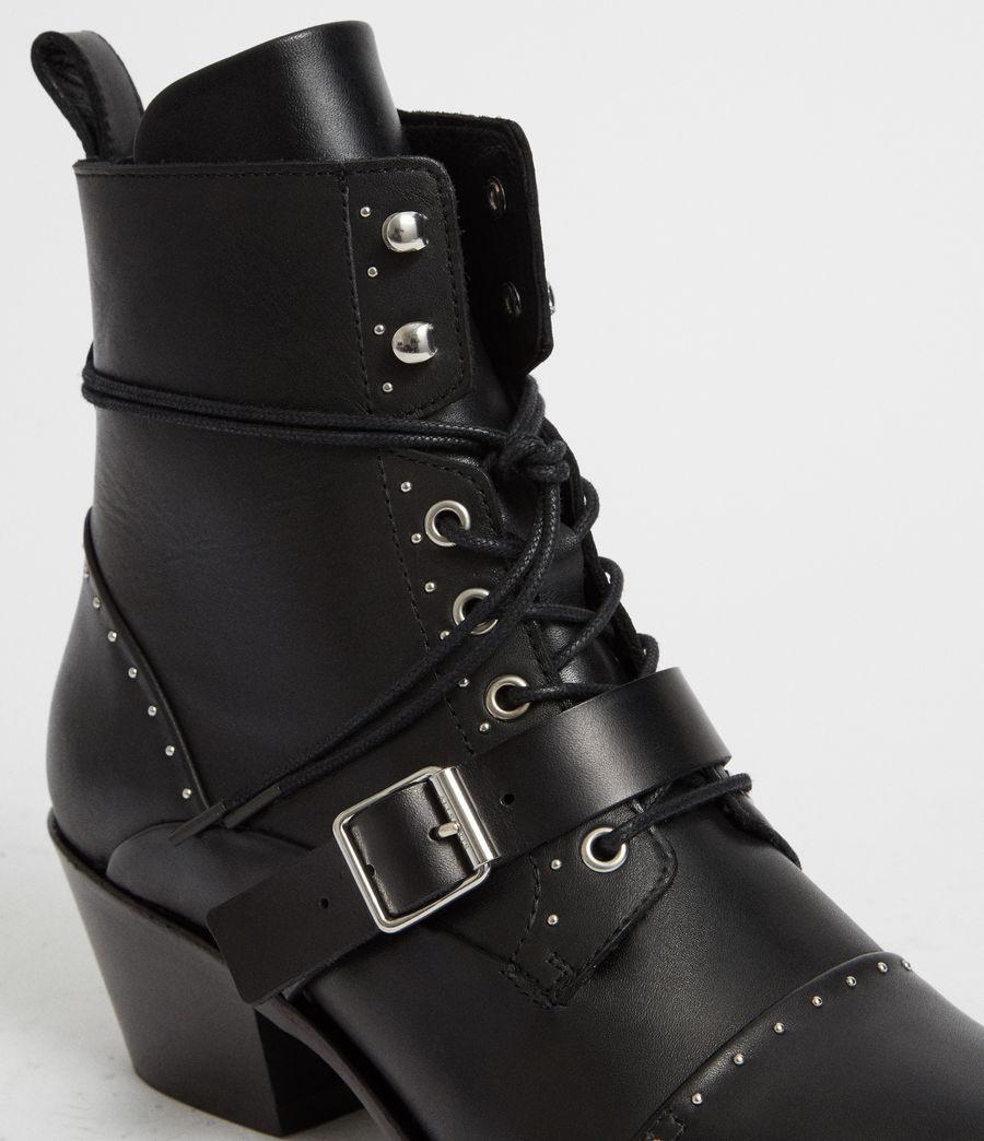 Womens Katy Studded Boot (black) - Image 3