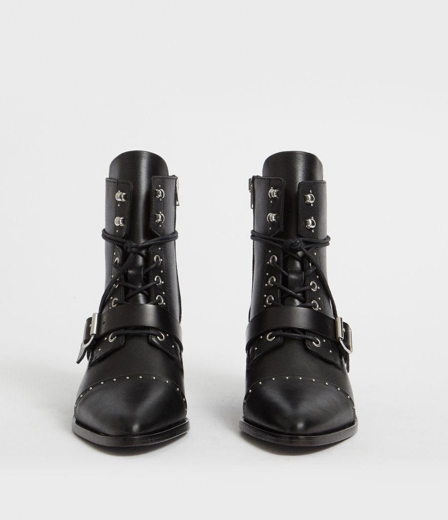 Womens Katy Studded Boot (black) - Image 4