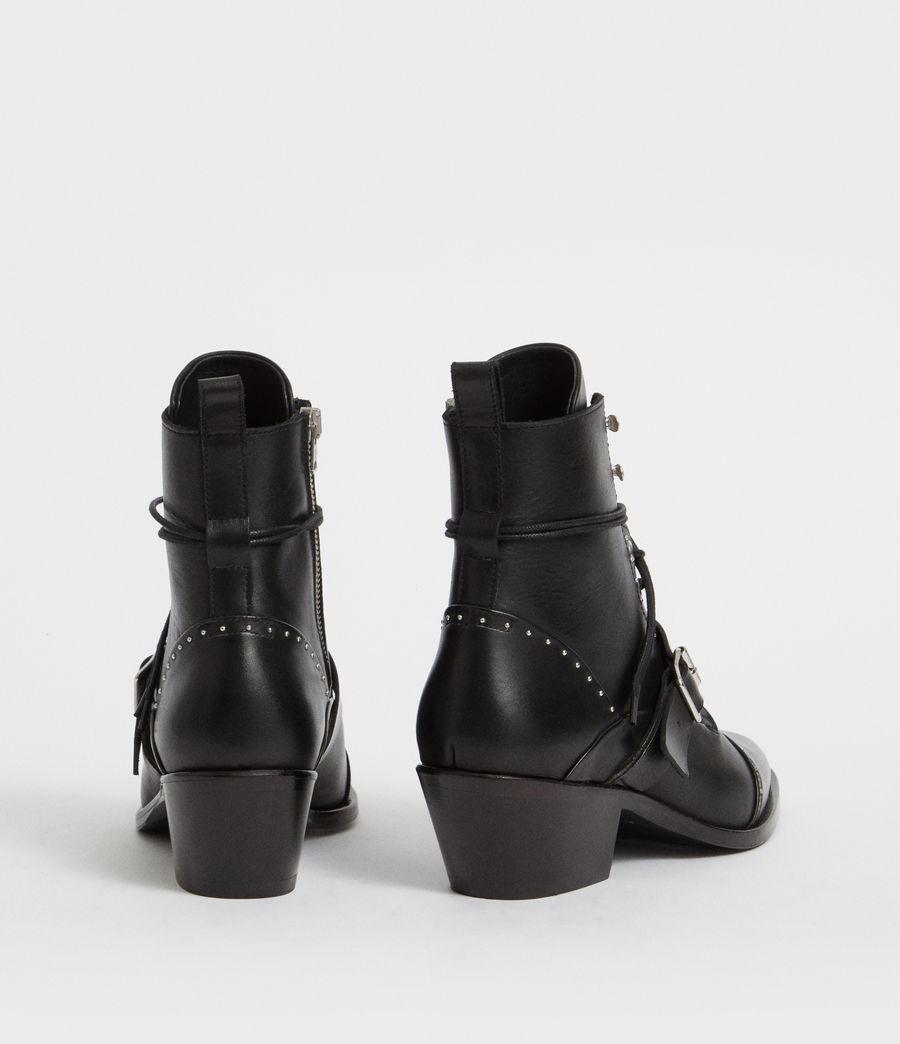 Womens Katy Studded Boot (black) - Image 5