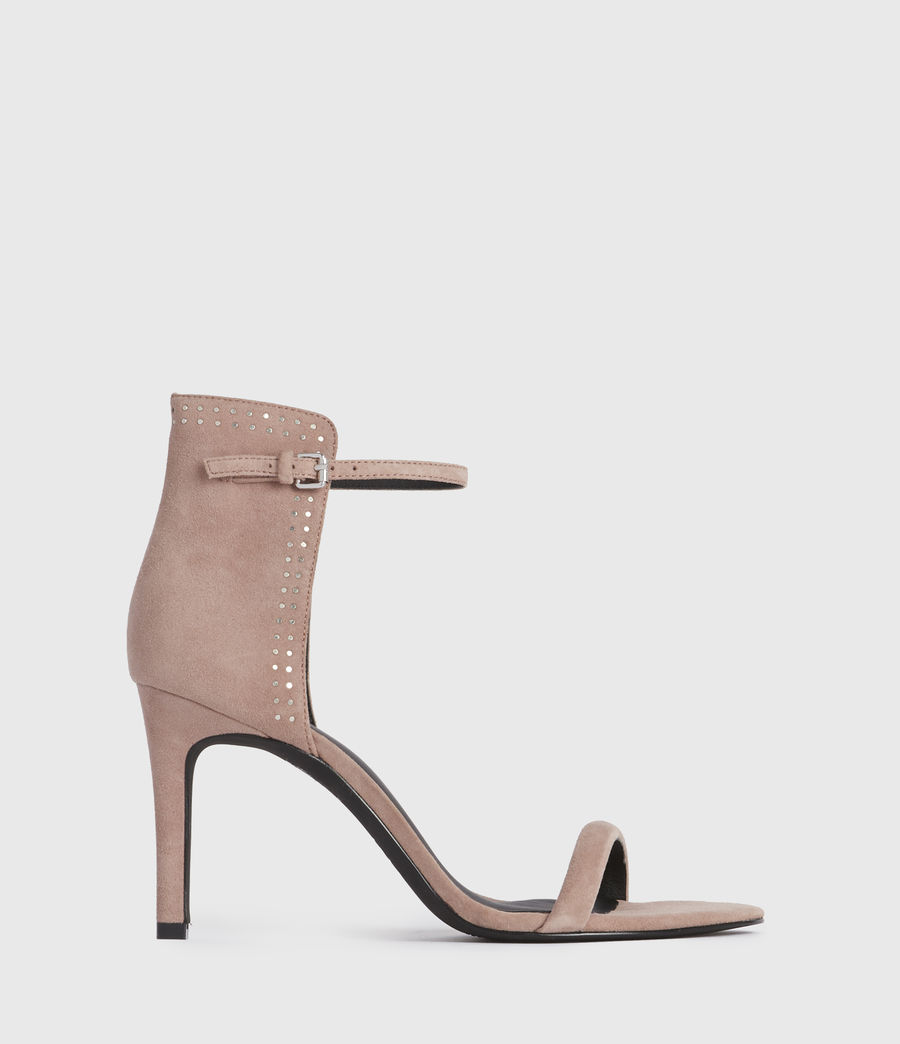 Women's Avia Suede Sandals (blush_pink) - Image 1