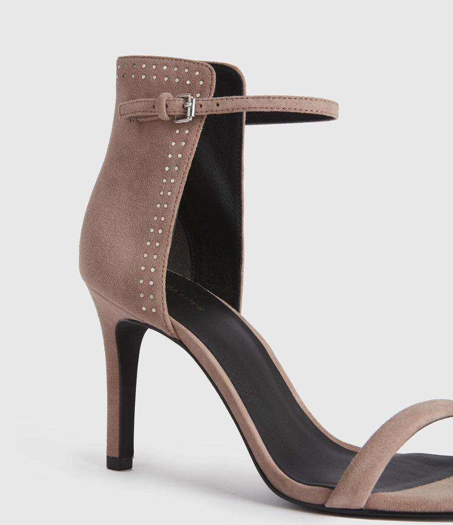 Women's Avia Suede Sandals (blush_pink) - Image 2