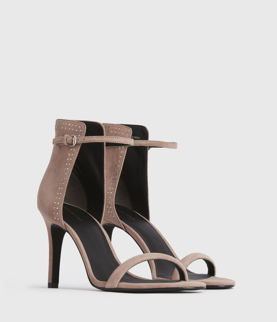 Women's Avia Suede Sandals (blush_pink) - Image 3