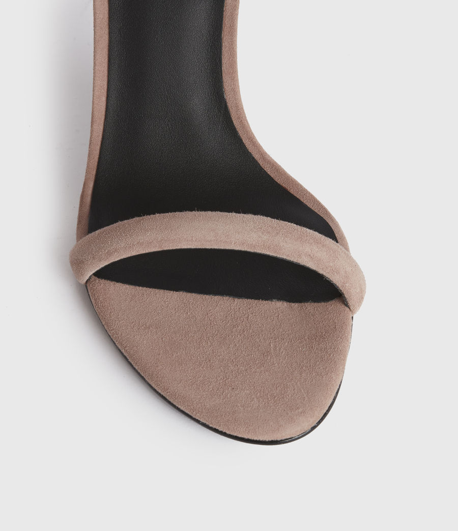Women's Avia Suede Sandals (blush_pink) - Image 4