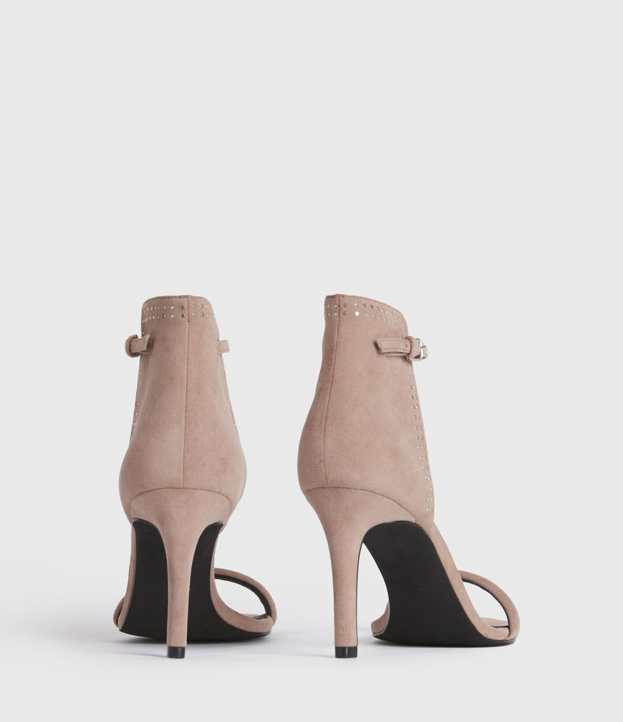 Women's Avia Suede Sandals (blush_pink) - Image 6