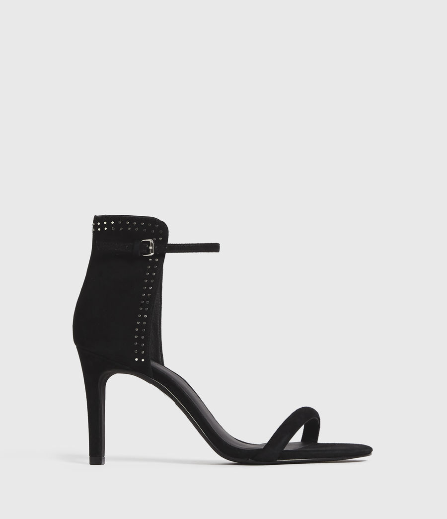 Damen Avia Suede Sandals (black) - Image 1