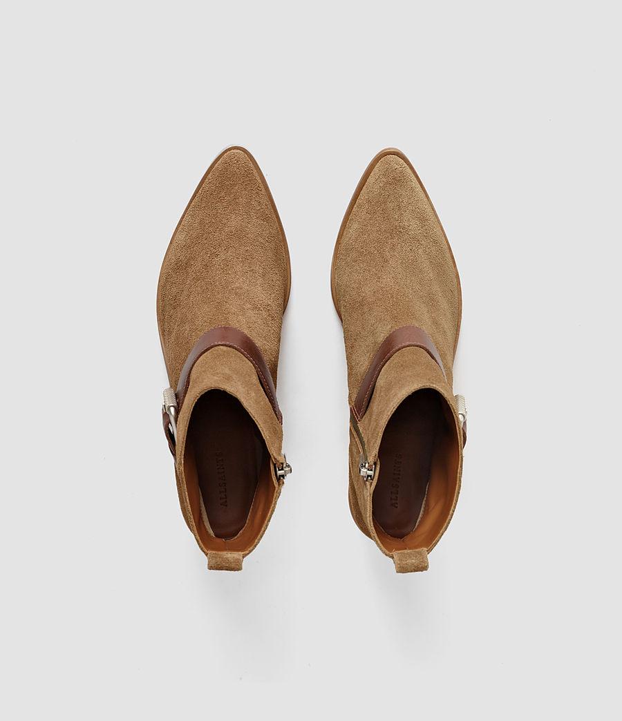 Mujer Jason Heel Boot (cognac) - Image 4