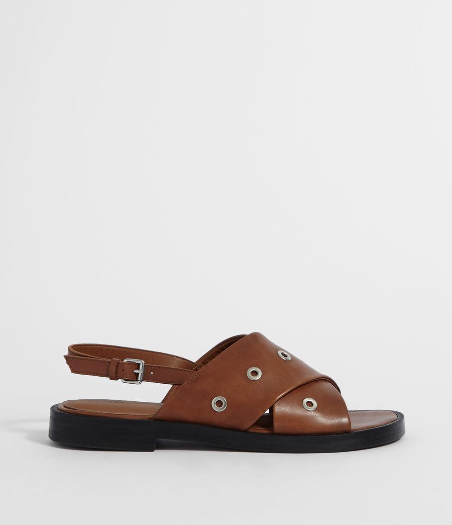 Women's Kiona Sandal (tan_brown) - Image 1