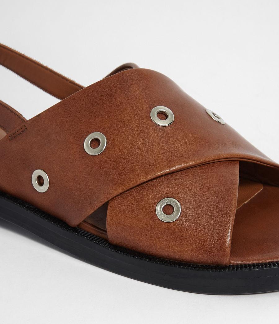 Women's Kiona Sandal (tan_brown) - Image 2