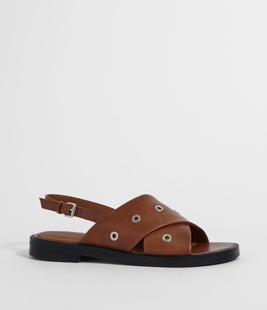 Women's Kiona Sandal (tan_brown) - Image 3