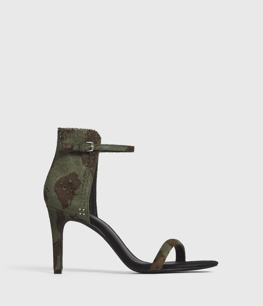 Mujer Avia Leather Sandals (camo) - Image 1