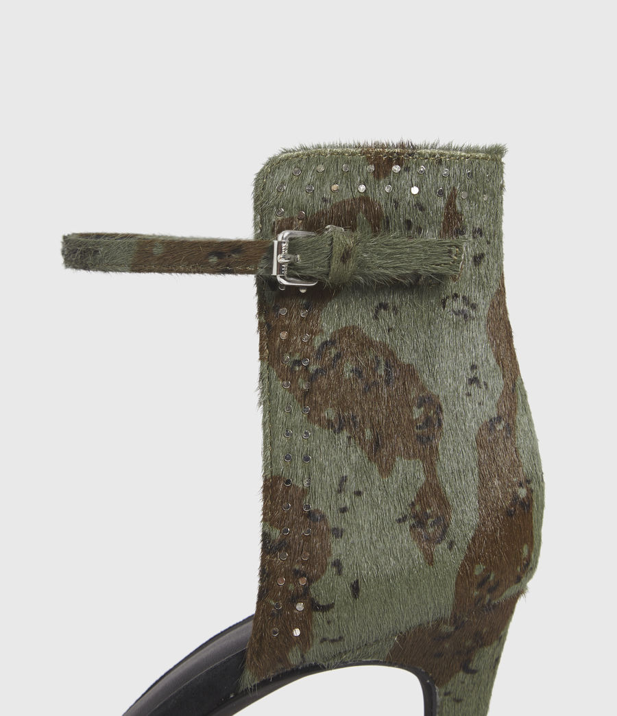 Mujer Avia Leather Sandals (camo) - Image 3