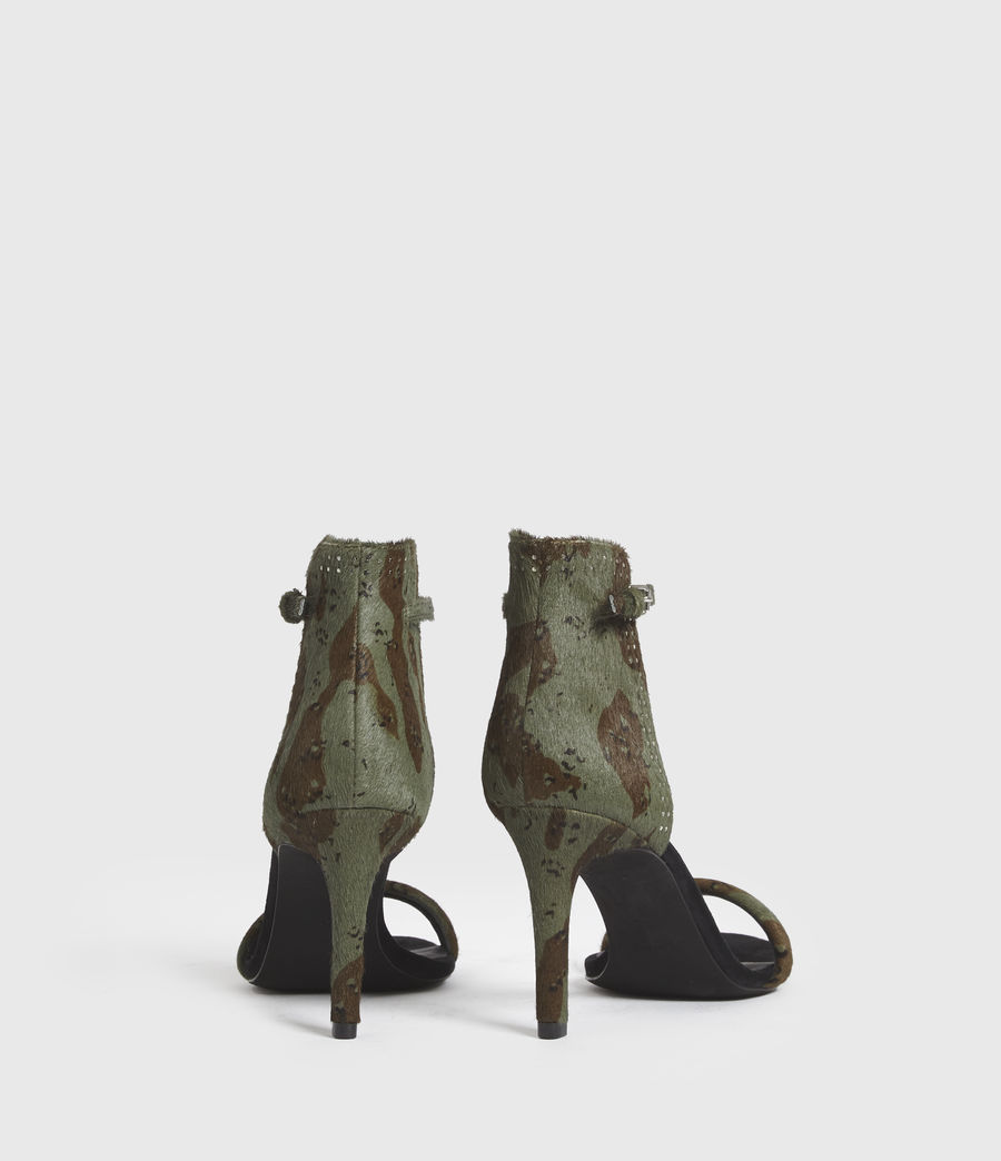 Mujer Avia Leather Sandals (camo) - Image 4