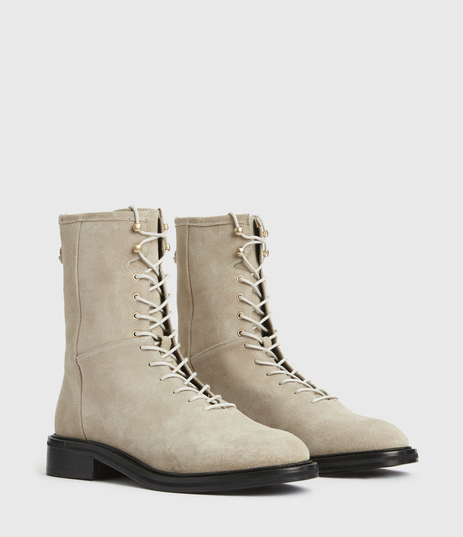 Women's Misty Suede Boots (summer_taupe) - Image 3