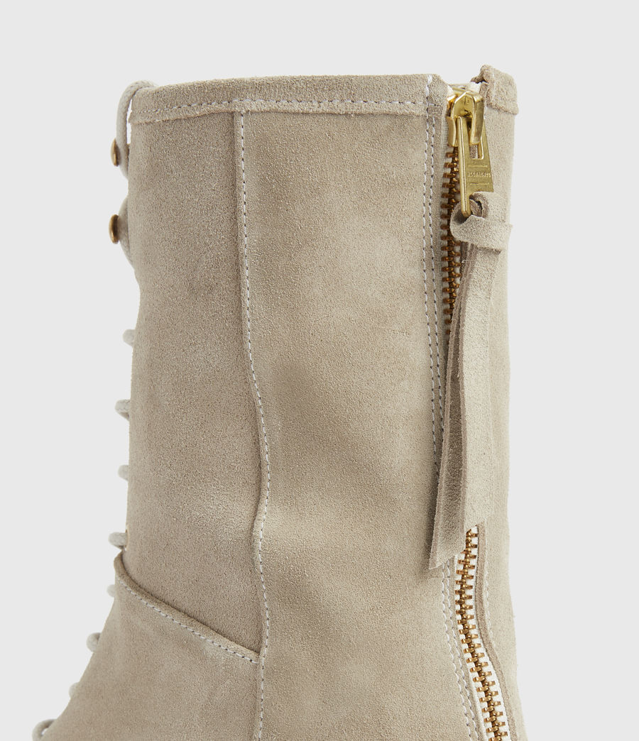 Women's Misty Suede Boots (summer_taupe) - Image 4