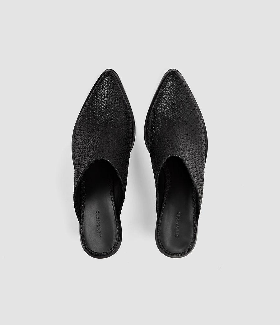 Femmes Mules Jade (black) - Image 4