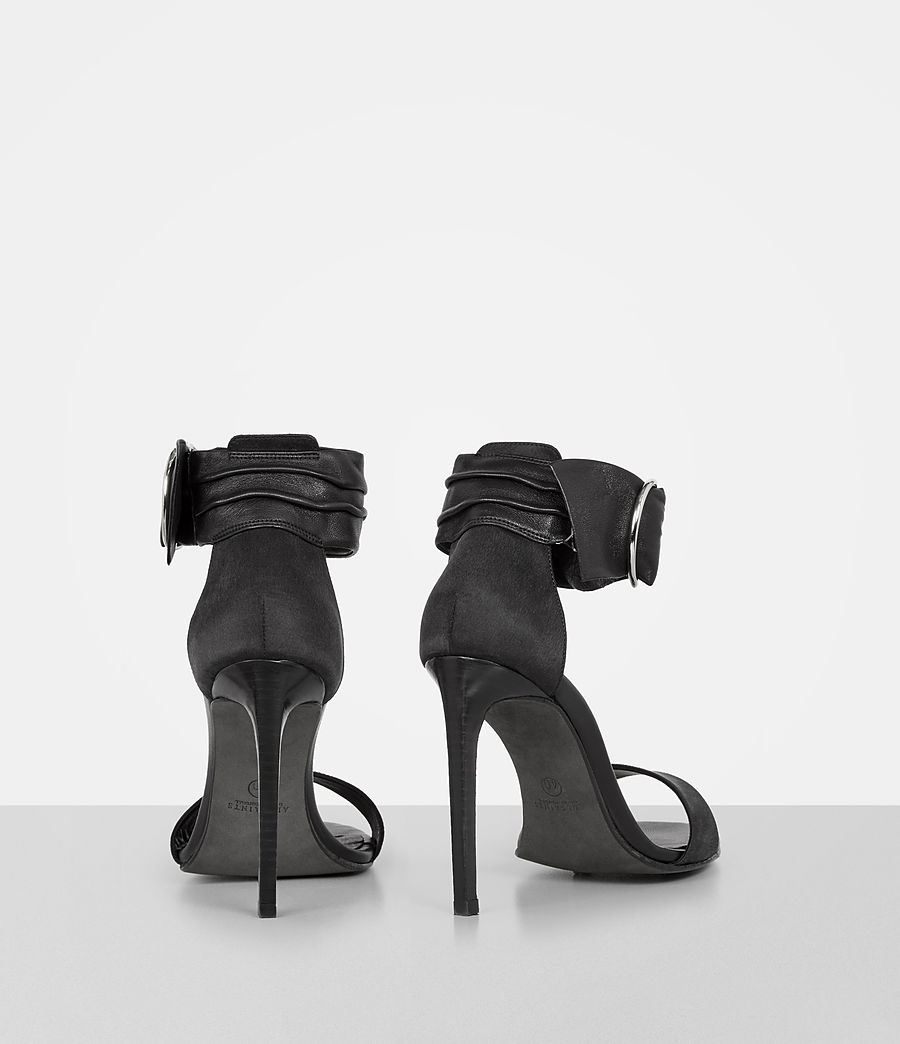 Womens Haidi Sandal (black) - Image 5