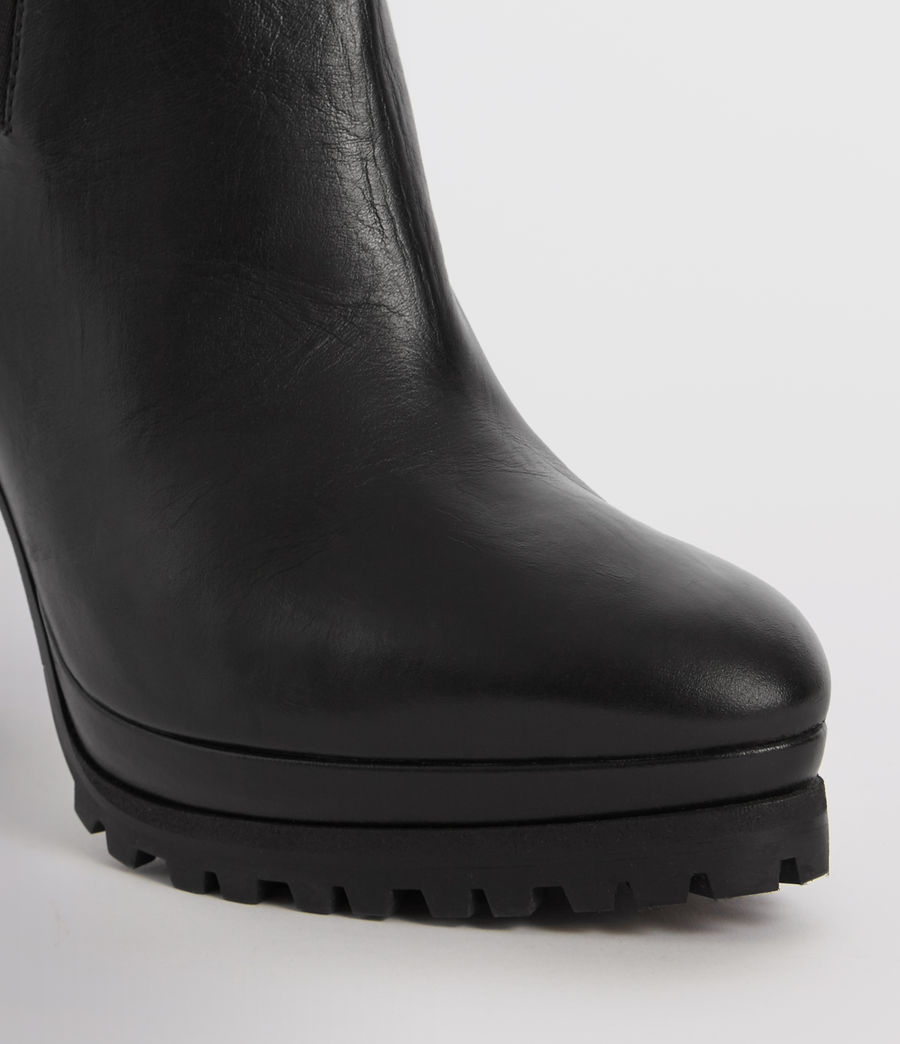 Womens Sarris Chelsea Boot (black) - Image 2