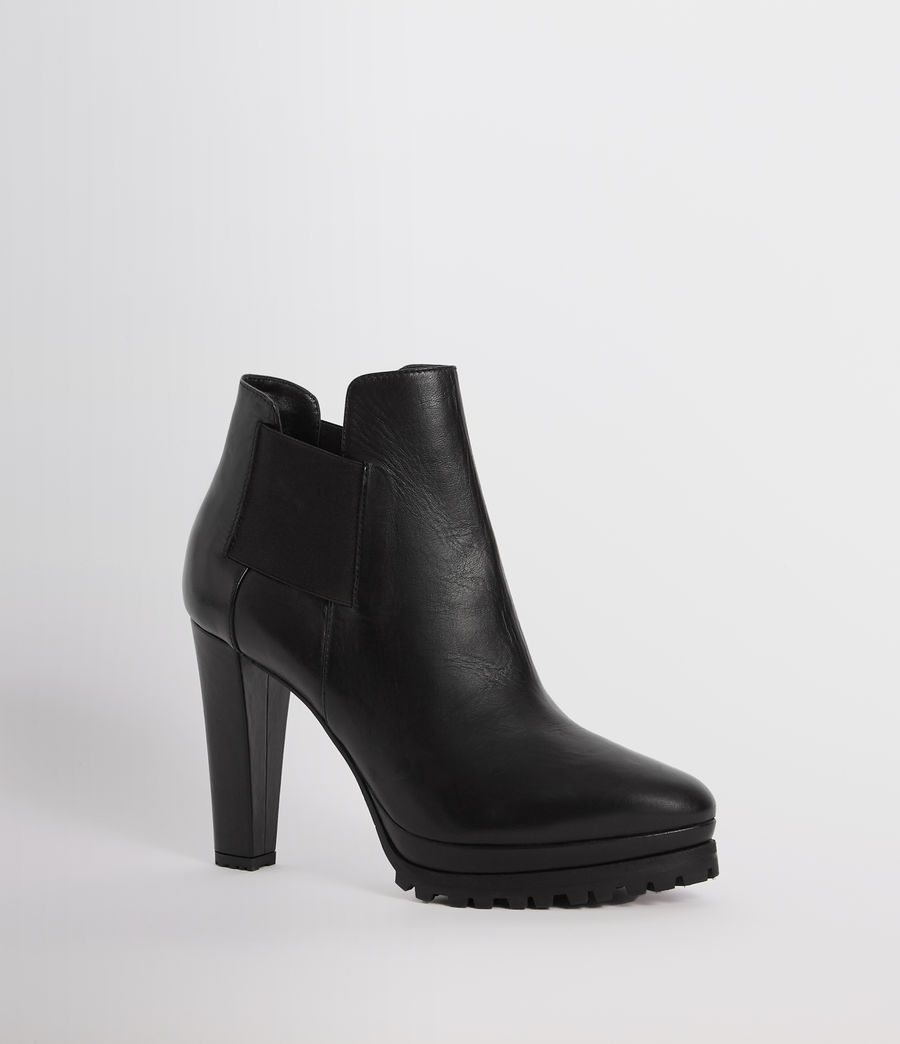 Womens Sarris Chelsea Boot (black) - Image 5