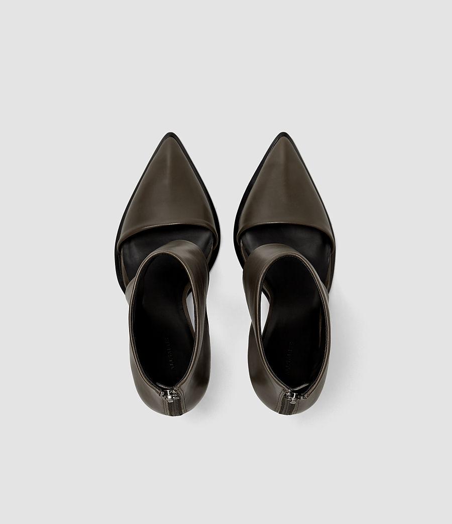 Mujer Theo Heel (dark_khaki_green) - Image 4
