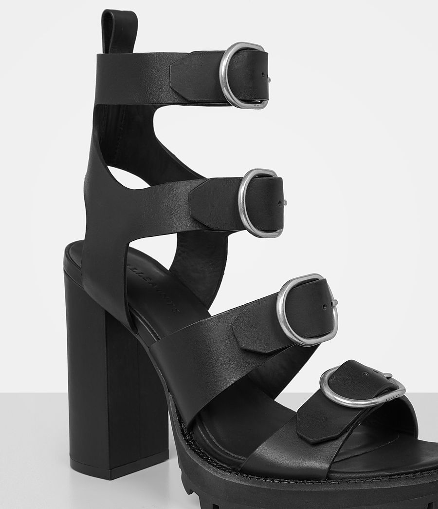 Femmes Sandales Osuna (black) - Image 3