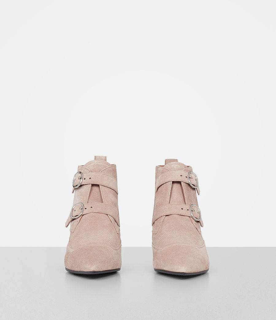 Damen Viv Suede Boot (sepia_pink) - Image 4