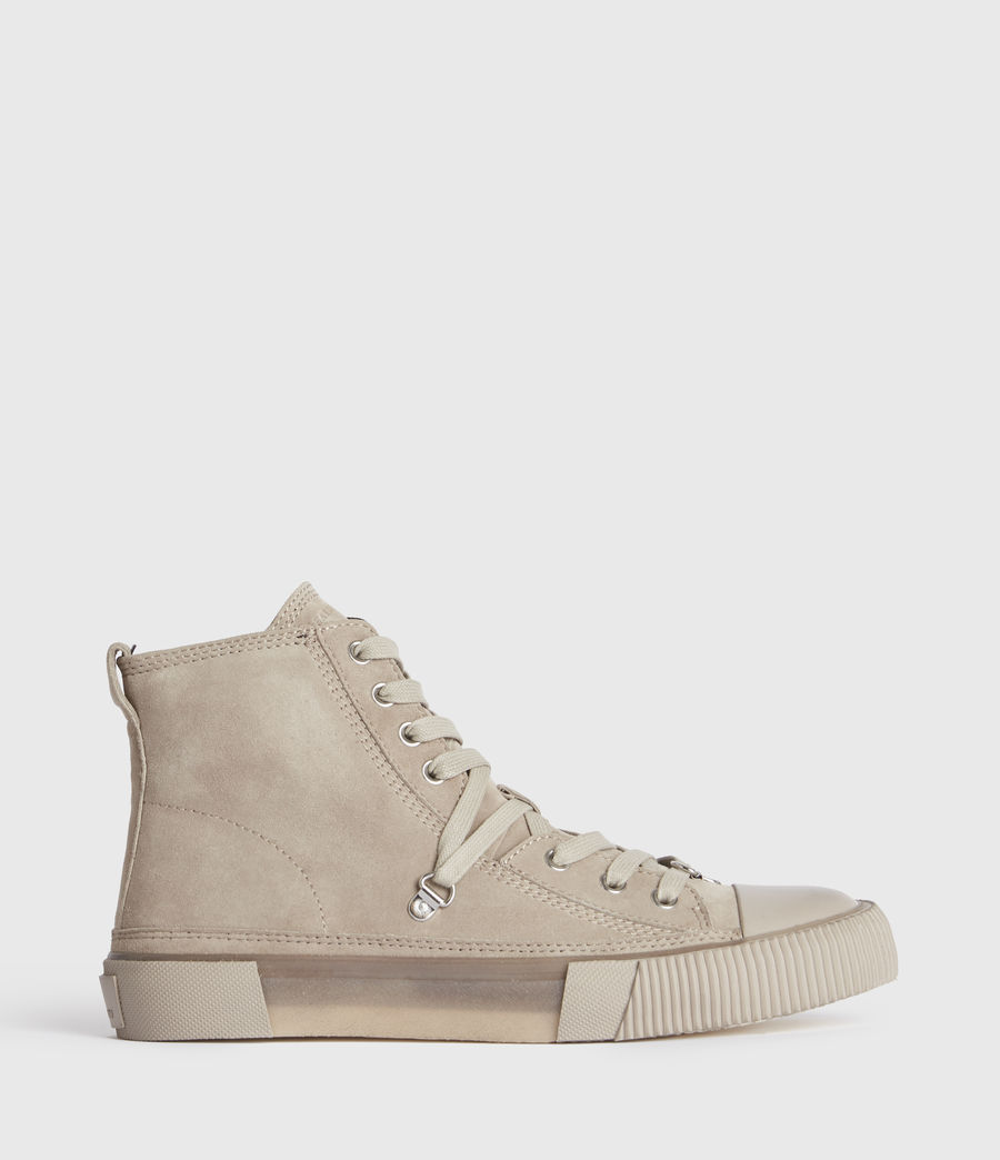 Damen Elena Wildleder High-Tops (blush_pink) - Image 1