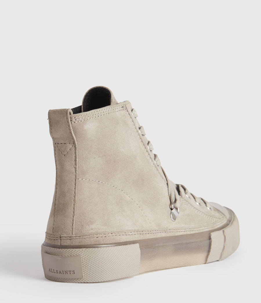 Damen Elena Wildleder High-Tops (blush_pink) - Image 5