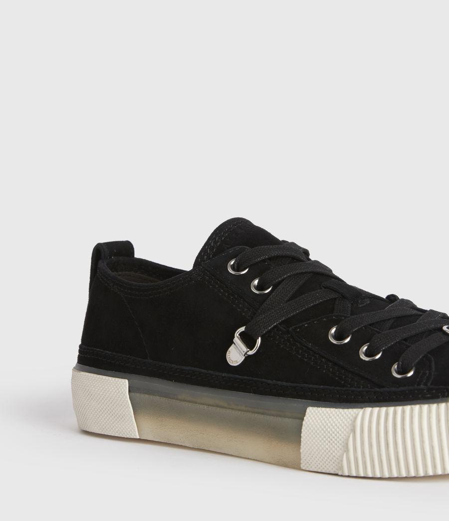 Damen Jazmin Low Top Sneaker (black) - Image 2