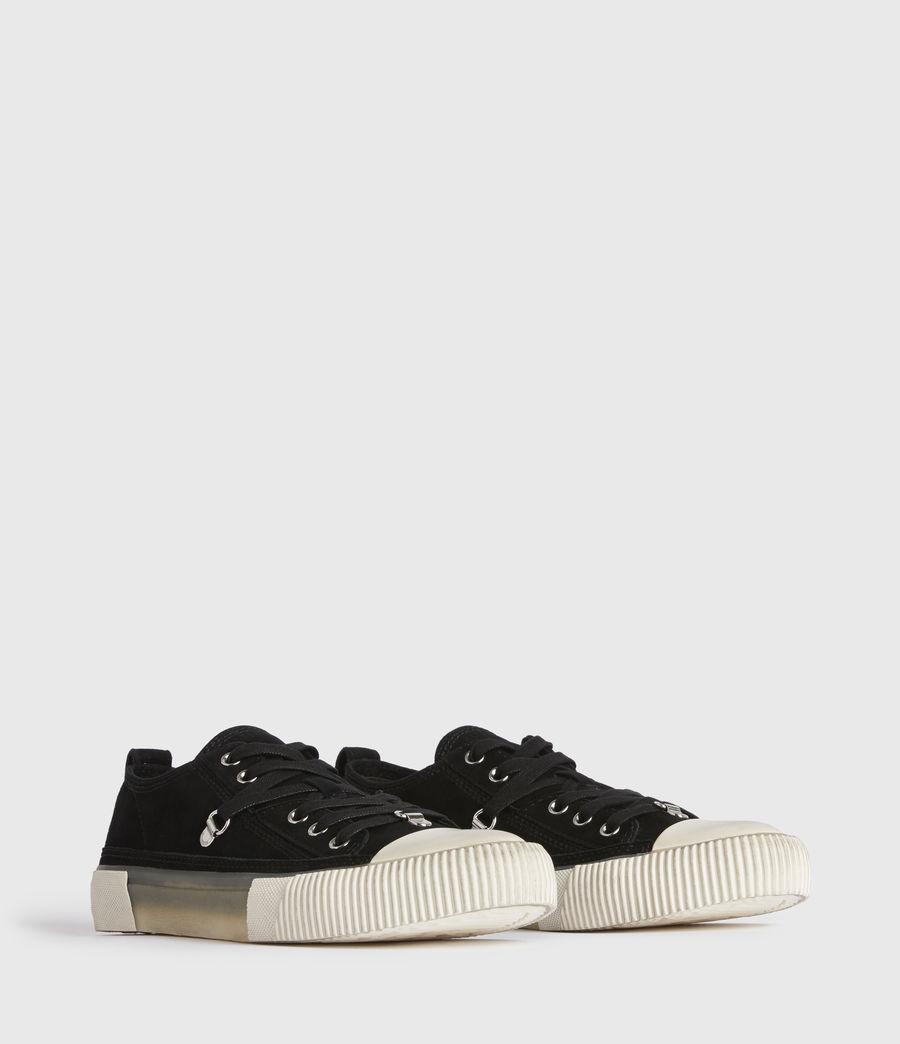 Damen Jazmin Low Top Sneaker (black) - Image 3