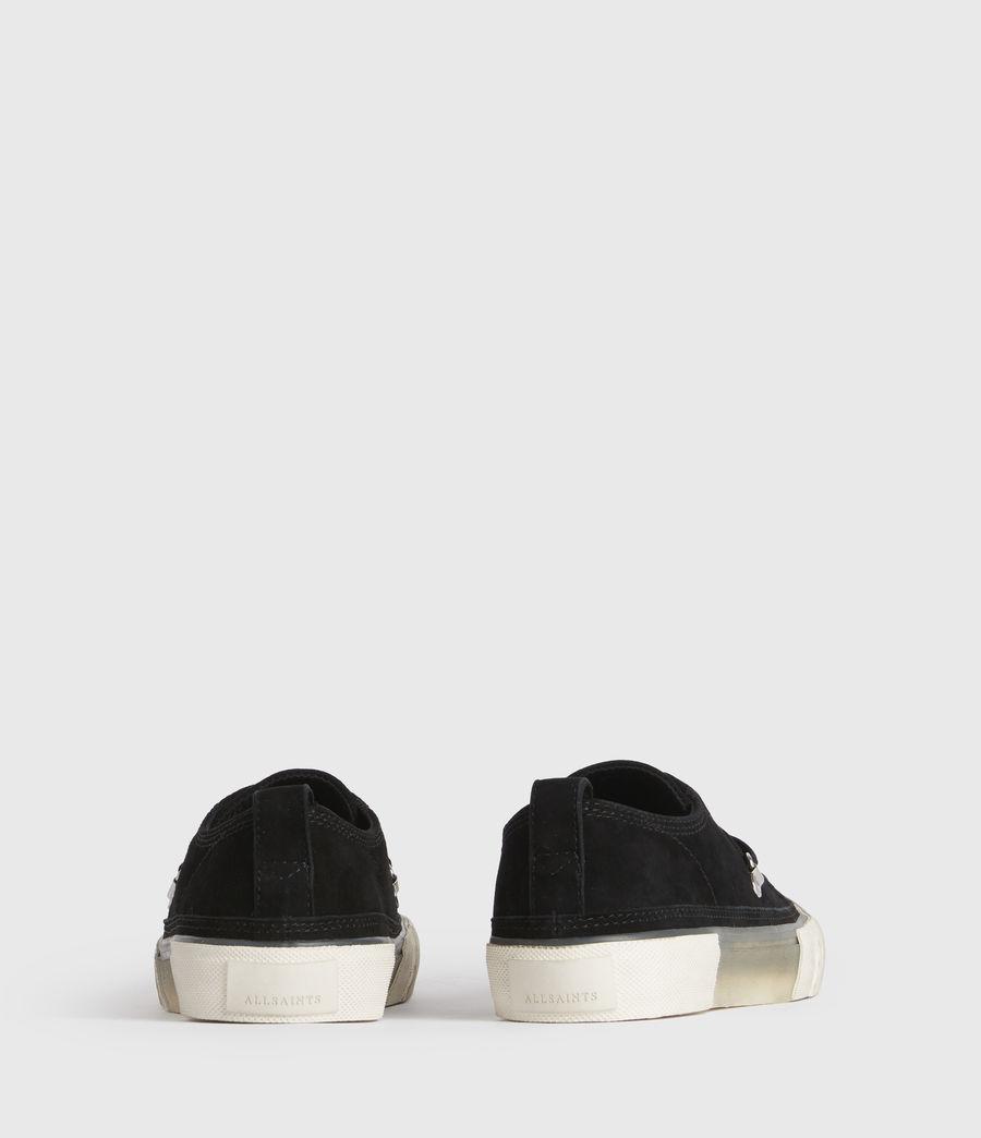 Damen Jazmin Low Top Sneaker (black) - Image 5
