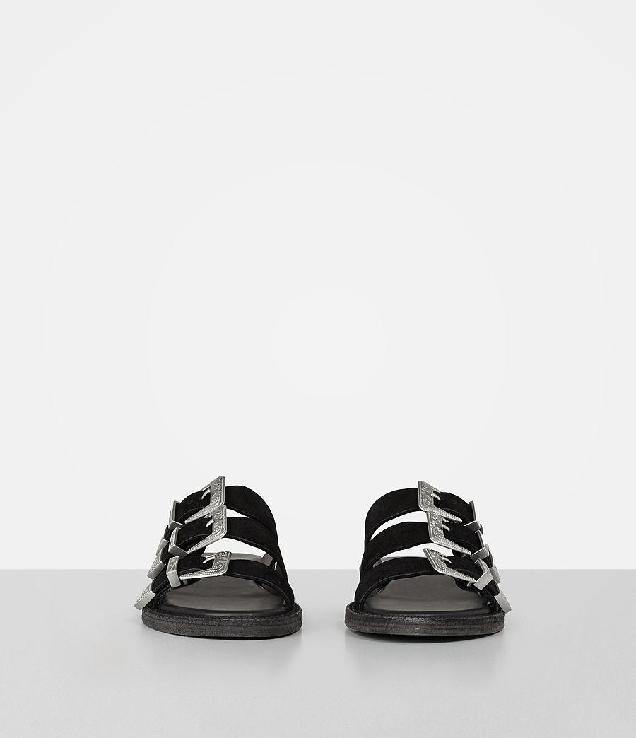 Womens Gianna Slide Sandal (black) - Image 4