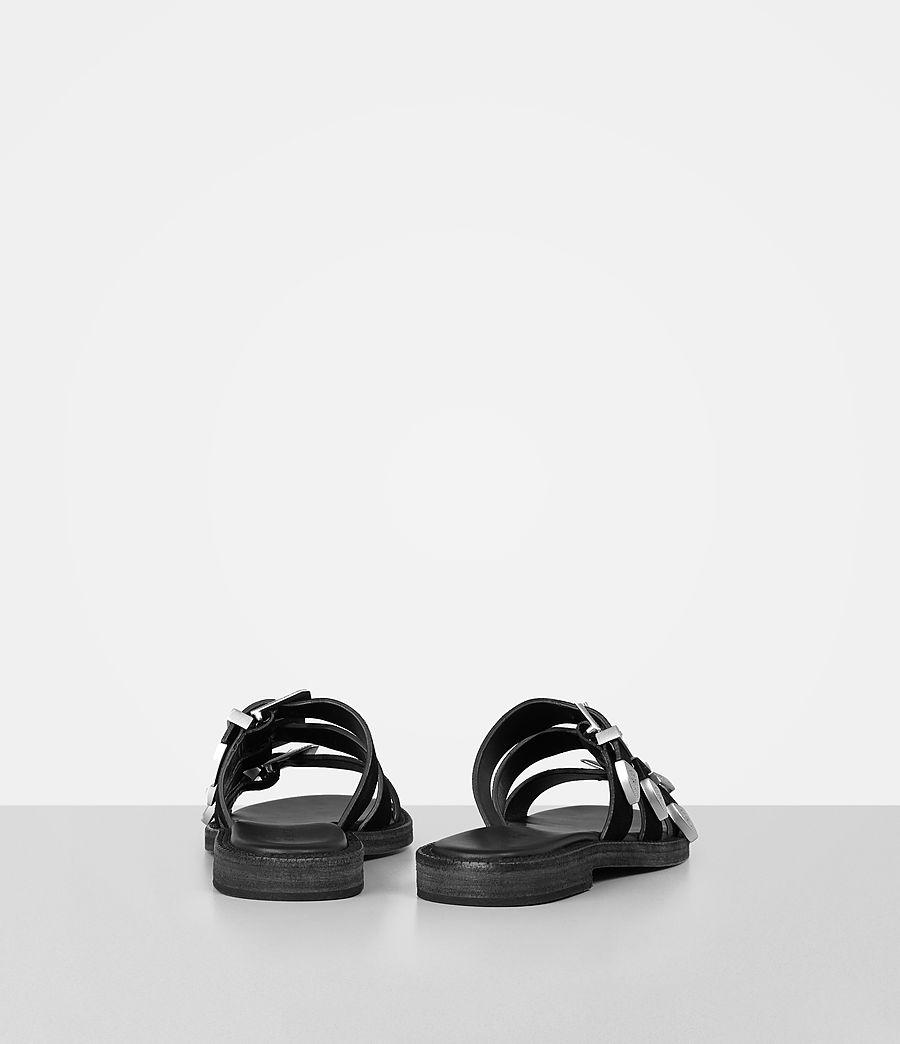 Womens Gianna Slide Sandal (black) - Image 5